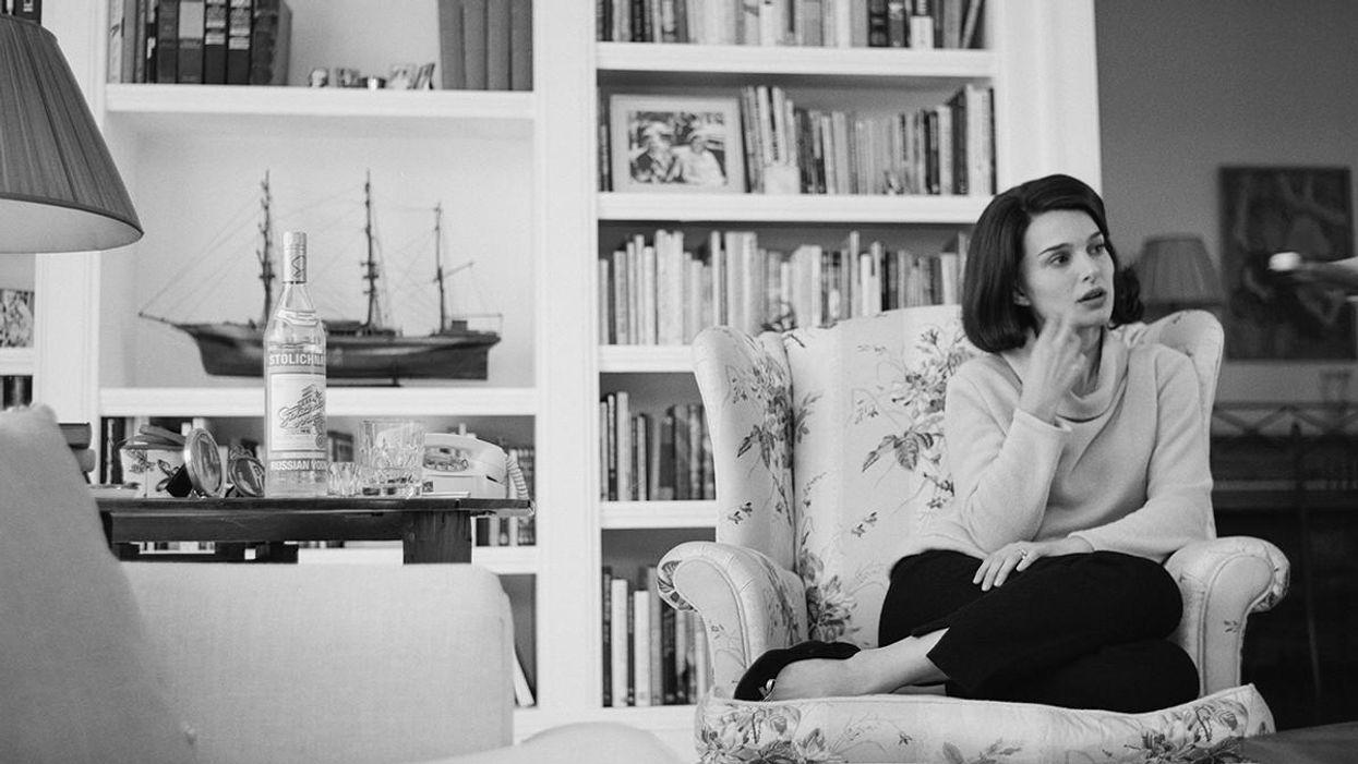 Natalie Portman a Jackie című filmben