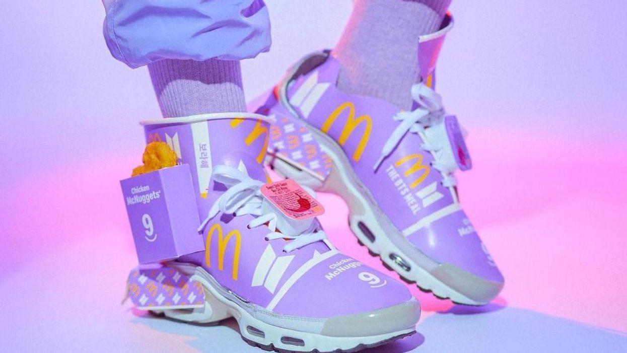 Gyorséttermi hulladékból készített cipőt egy japán tervező
