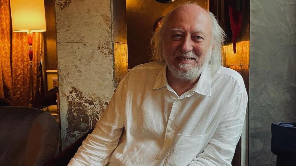 Patti Smith és Krasznahorkai László együtt kávézgattak Velencében