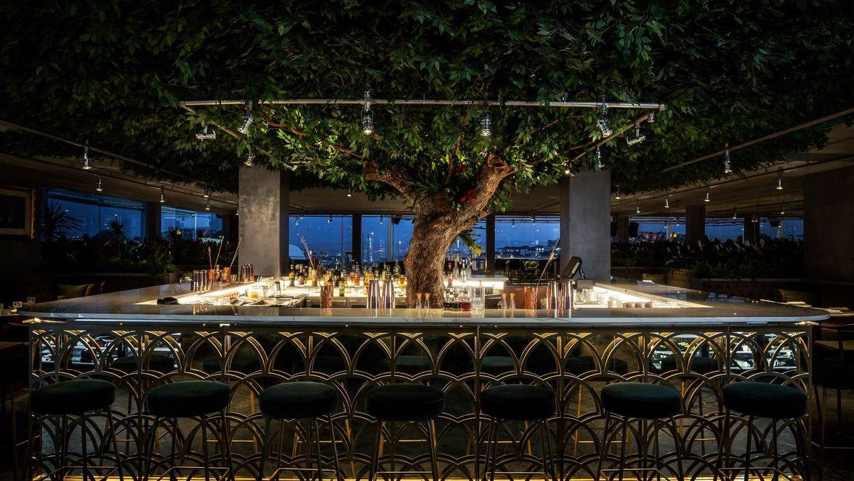 Liszabon egyik legkedveltebb éttermének, a SEEN-nek a bárja