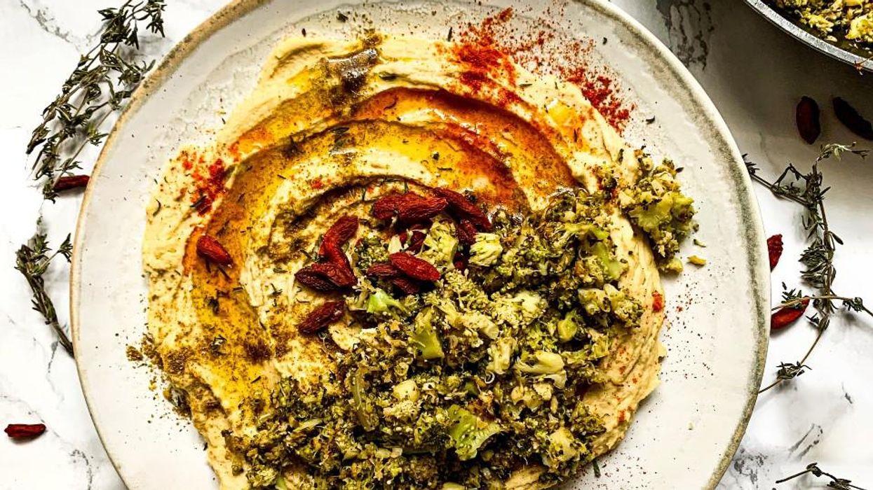 az arab konyha egyik legkedveltebb fogása, a humusz