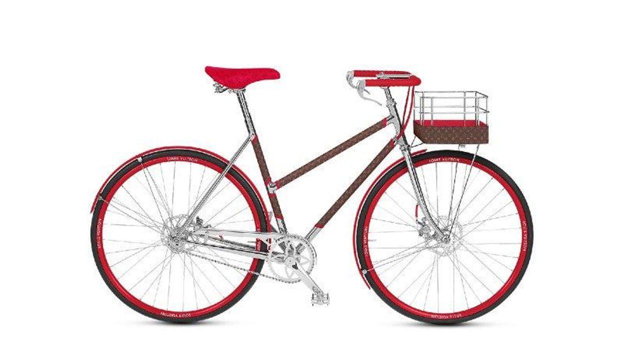 A Louis Vuitton biciklijét te sem utasítanád el