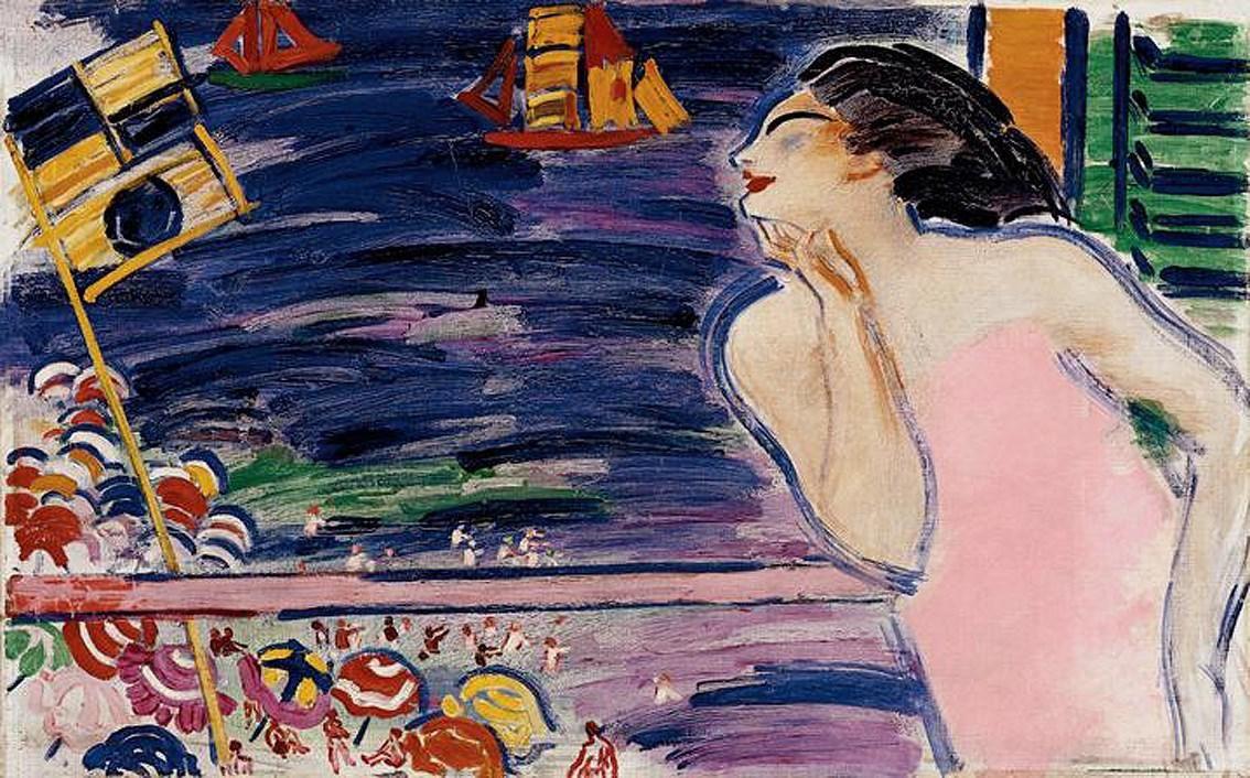 Vaszary János 1930-ban festett képe, az Itáliai emlék