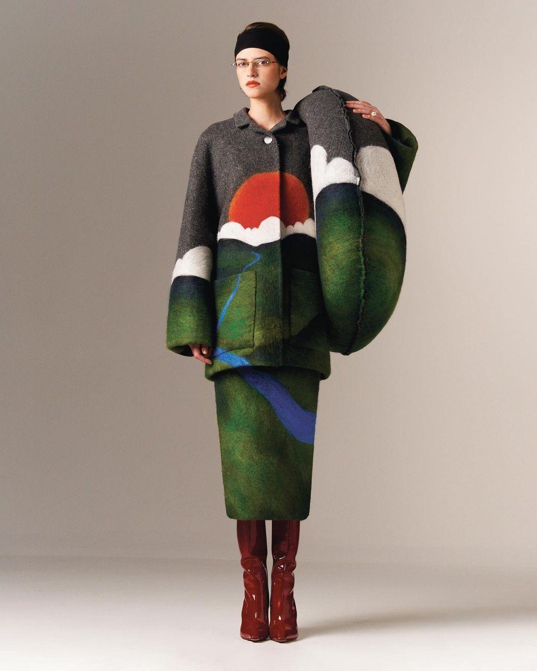 Conner Ives ruhatervező The American Dream című kollekciójának egyik darabja