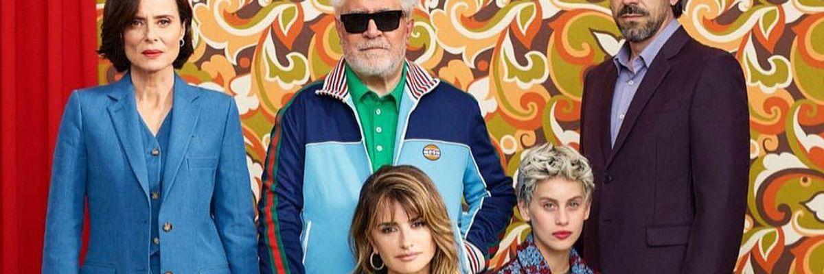 Pedro Almodóvar Madres Paralelas című új filmjének első hivatalos promóciós fotója, mely a Velencei Filmfesztivál nyitófilmje lesz szeptember 1-jén.