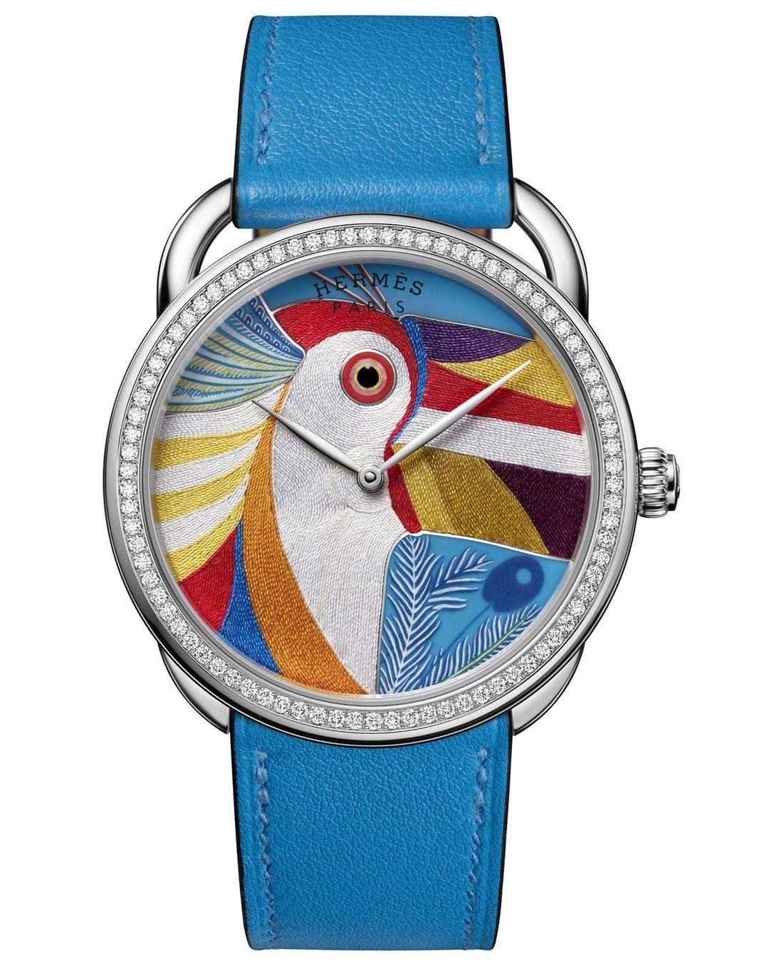 Az Hermès limitált kiadású tukános karórája