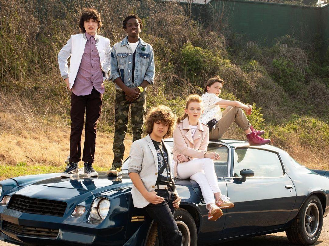 A Netflix Stranger Things című sorozaténak gyerekszereplői