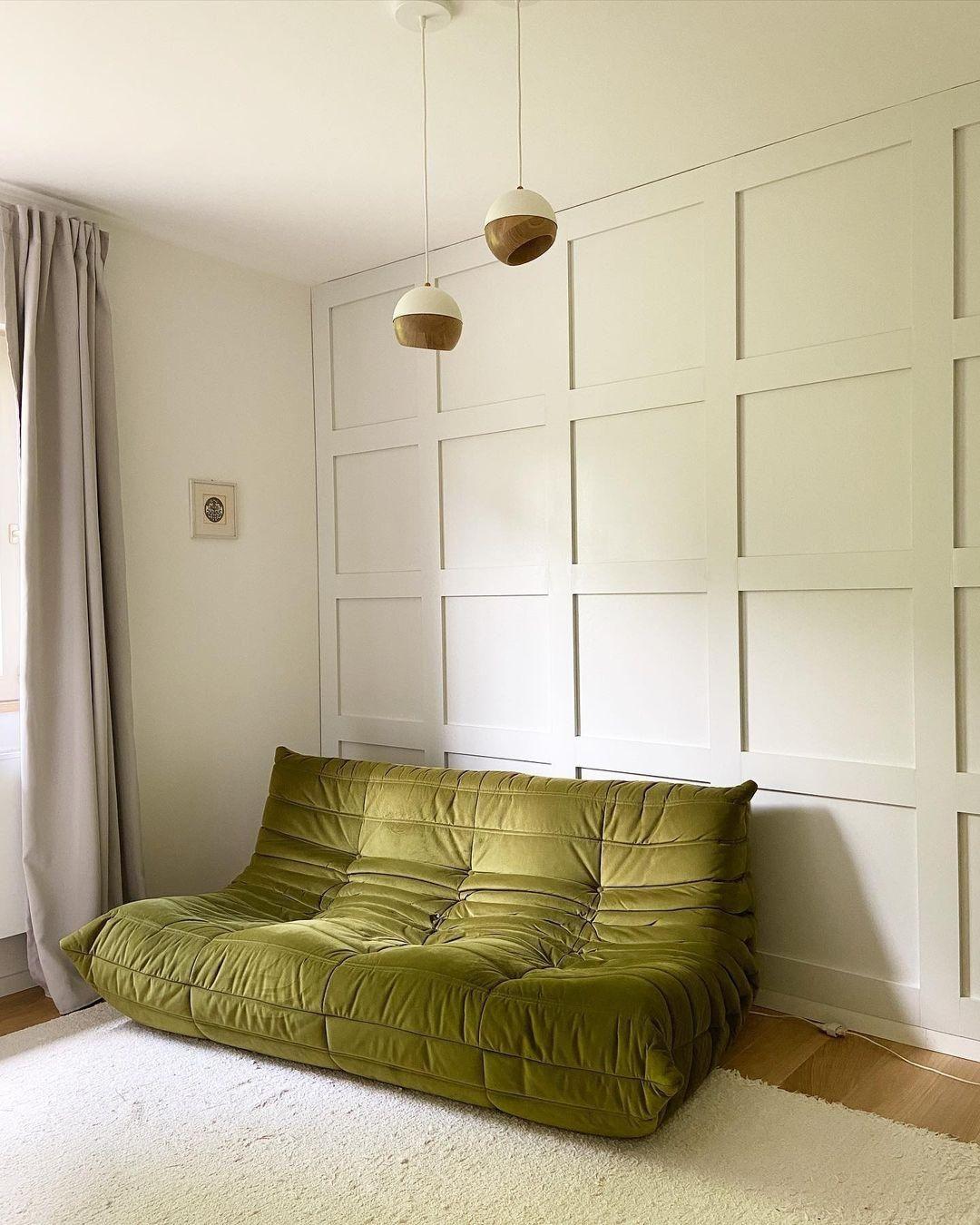 A Michel Ducaroy által tervezett, ikonikus Togo kanapé