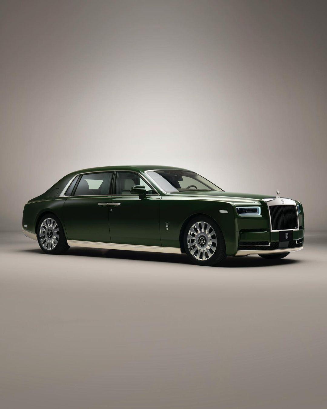 A Rolls-Royce Phantom Oribe típusa