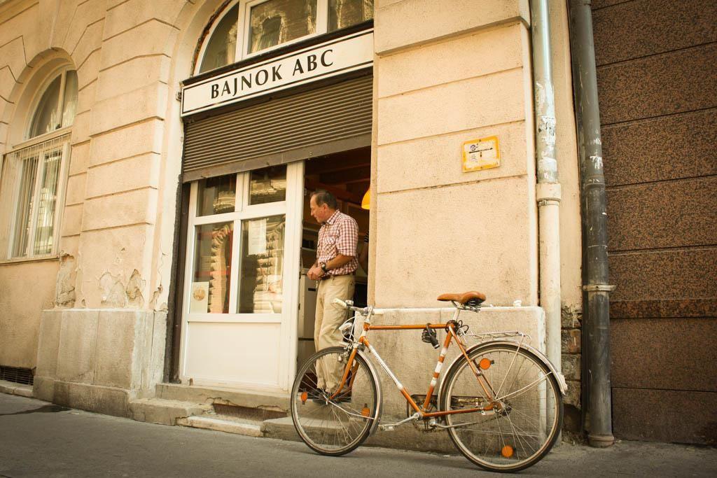 ABC üzlet a Bajnok utcában.