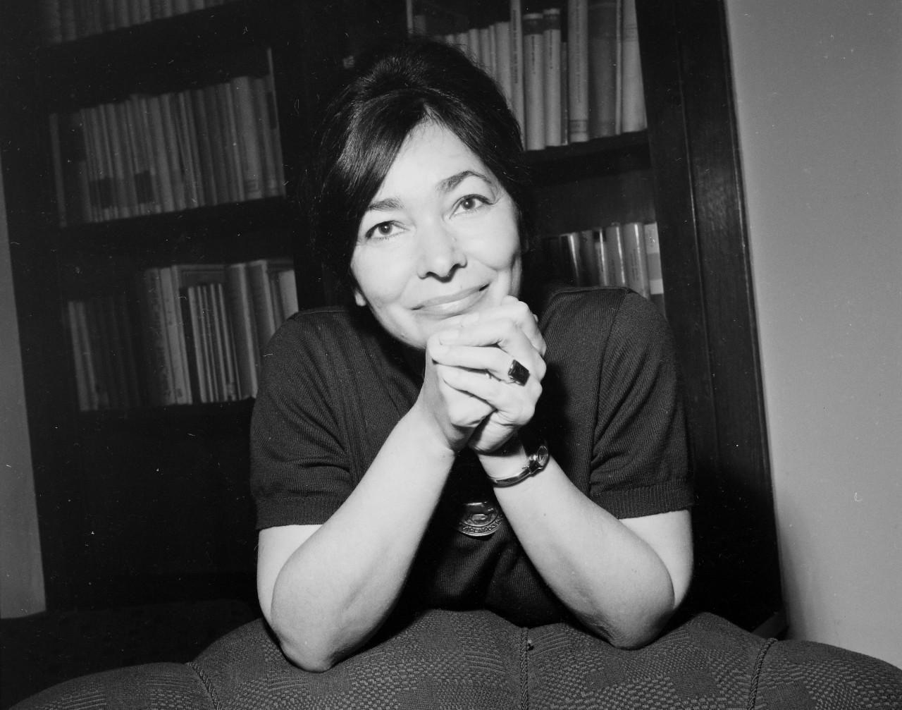 Szabó Magda író 1964-ben.