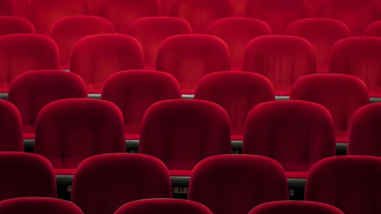Moziszékek egy holland moziban, illusztráció