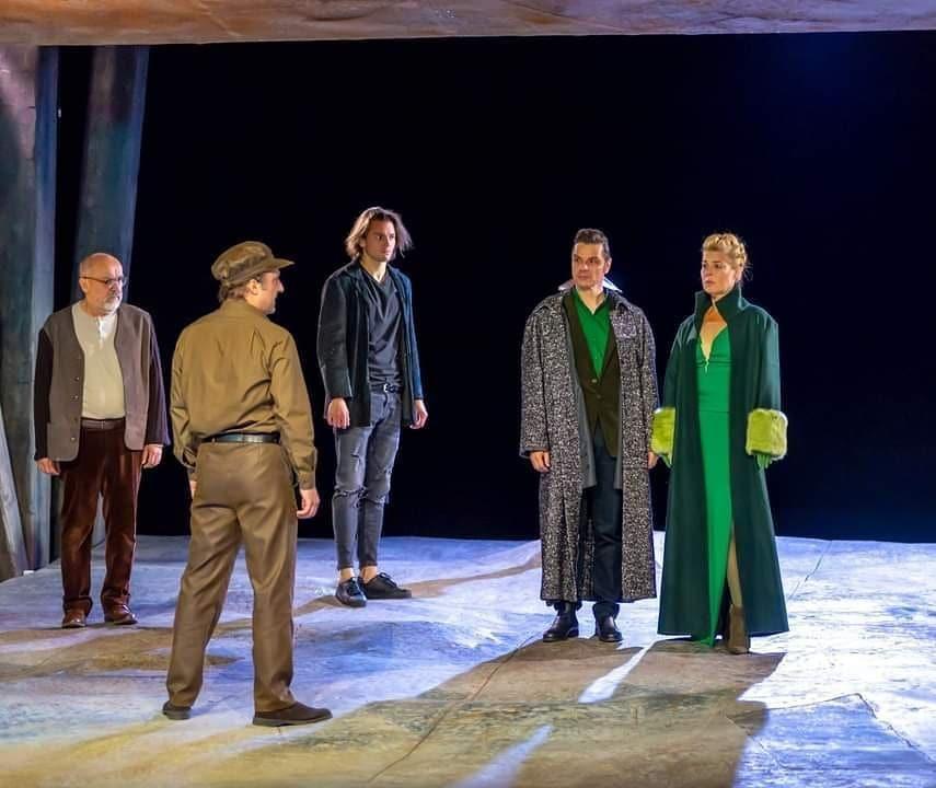 Shakespeare: Lear király című darabja Zsámbéki Gábor rendezésében a Katona József Színházban