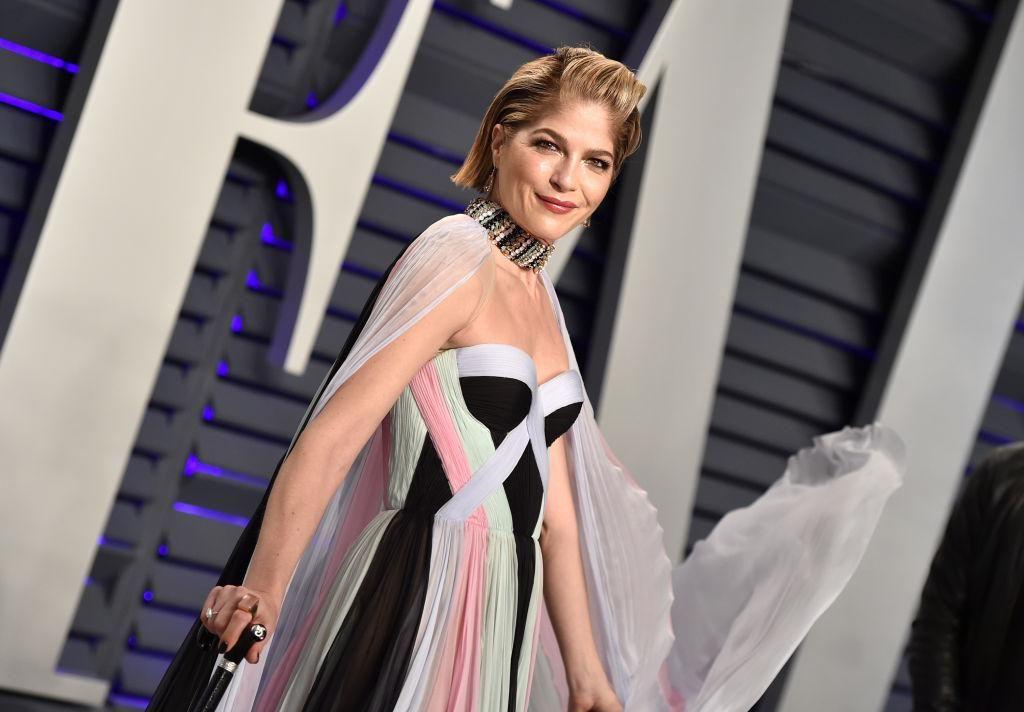 Selma Blair a 2019 -es Vanity Fair Oscar-partin