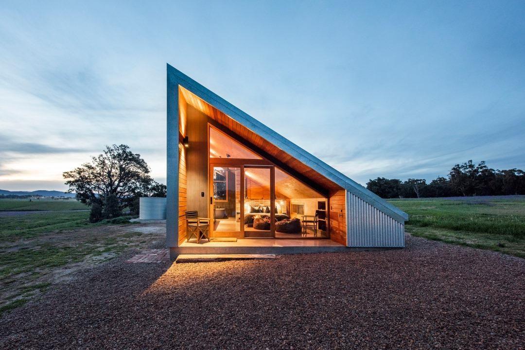 A Cameron Anderson által tervezett, Ausztrália szélén álló házikó