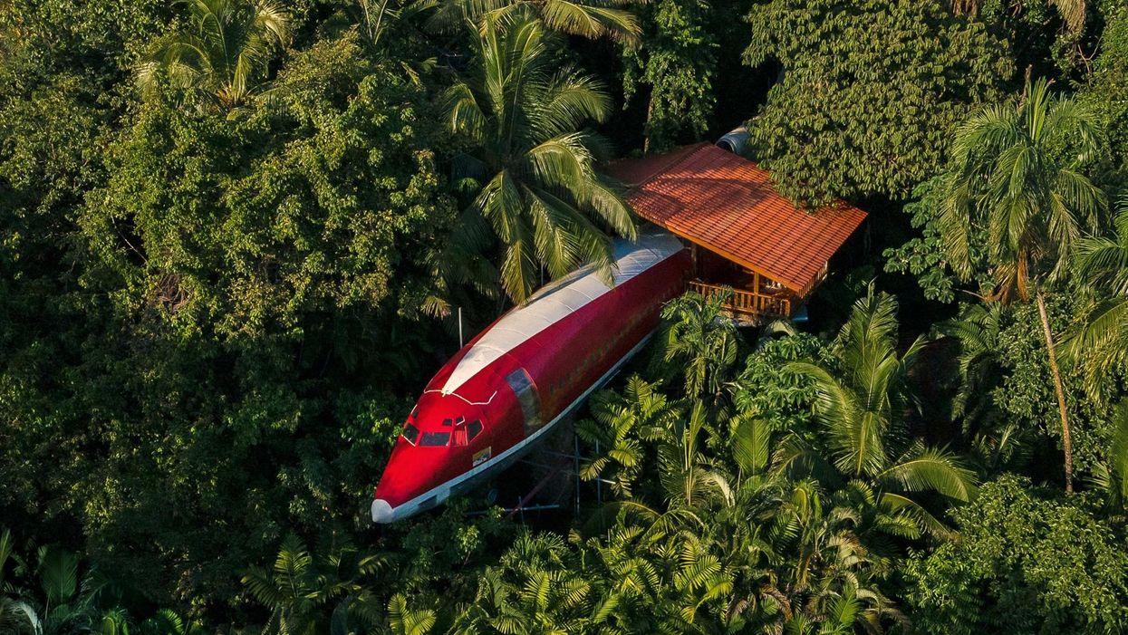 Így néz ki egy Boeingből átalakított luxuslakosztály Costa Ricán