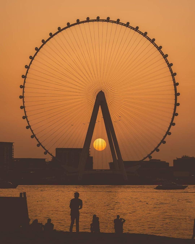 A világ legmagasabb órisákereke, az Egyesült Arab Emírségekben található Ain Dubai.