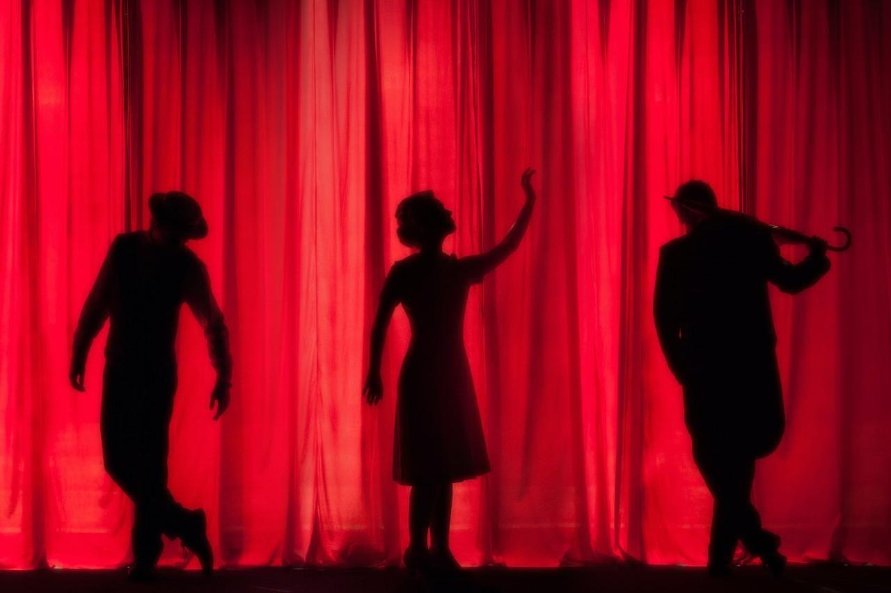 Színház, illusztráció