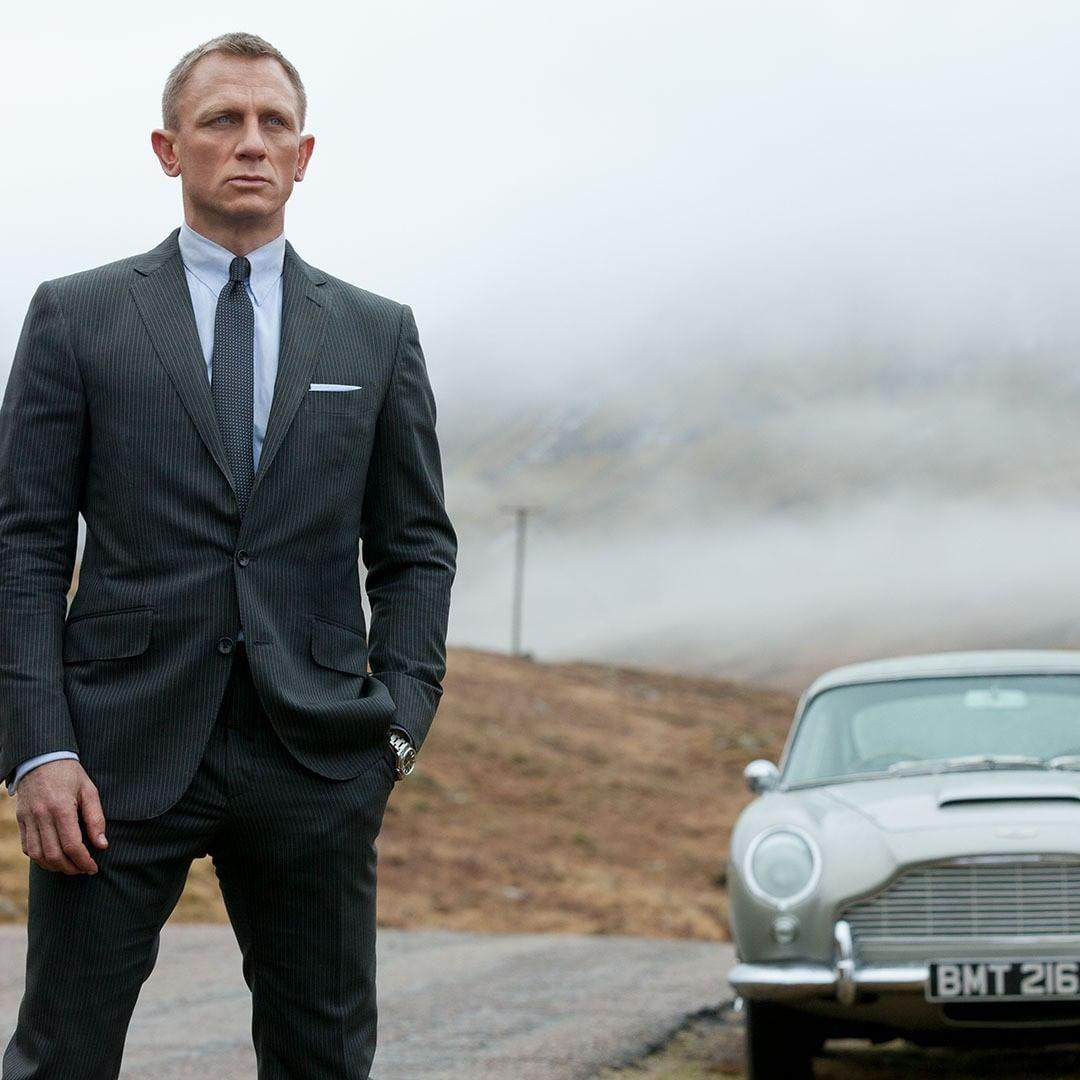 Daniel Craig James Bondként a Skyfall című filmben