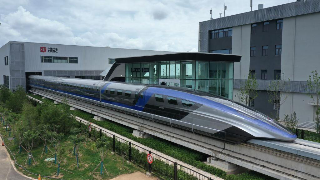 A kínai mágnesvasút, a világ leggyorsabb vonata