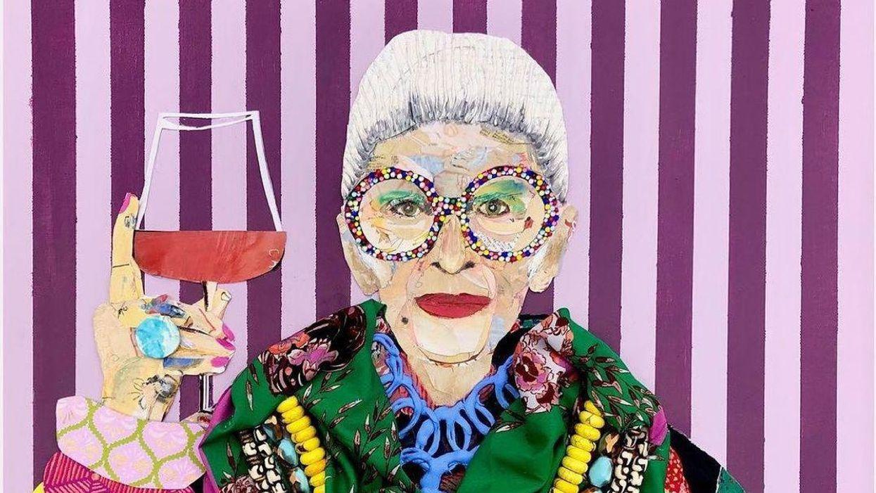 Betöltötte a százat Iris Apfel, a világ legvagányabb stílusikonja