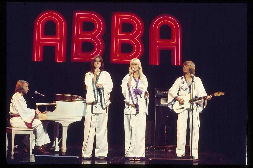 Az ABBA egy 1977-es koncerten