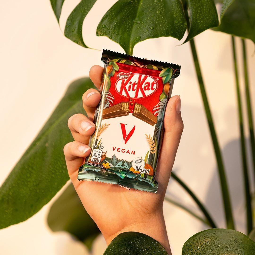 Szeptembertől itthon is kapható a vegán KitKat