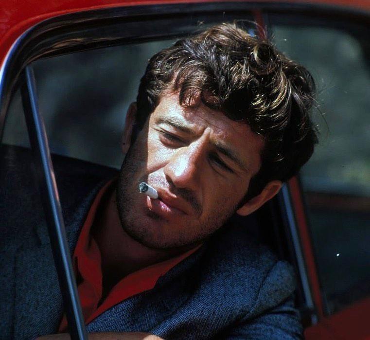 Jean-Paul Belmondo a Bolond Pierrpt című filmben
