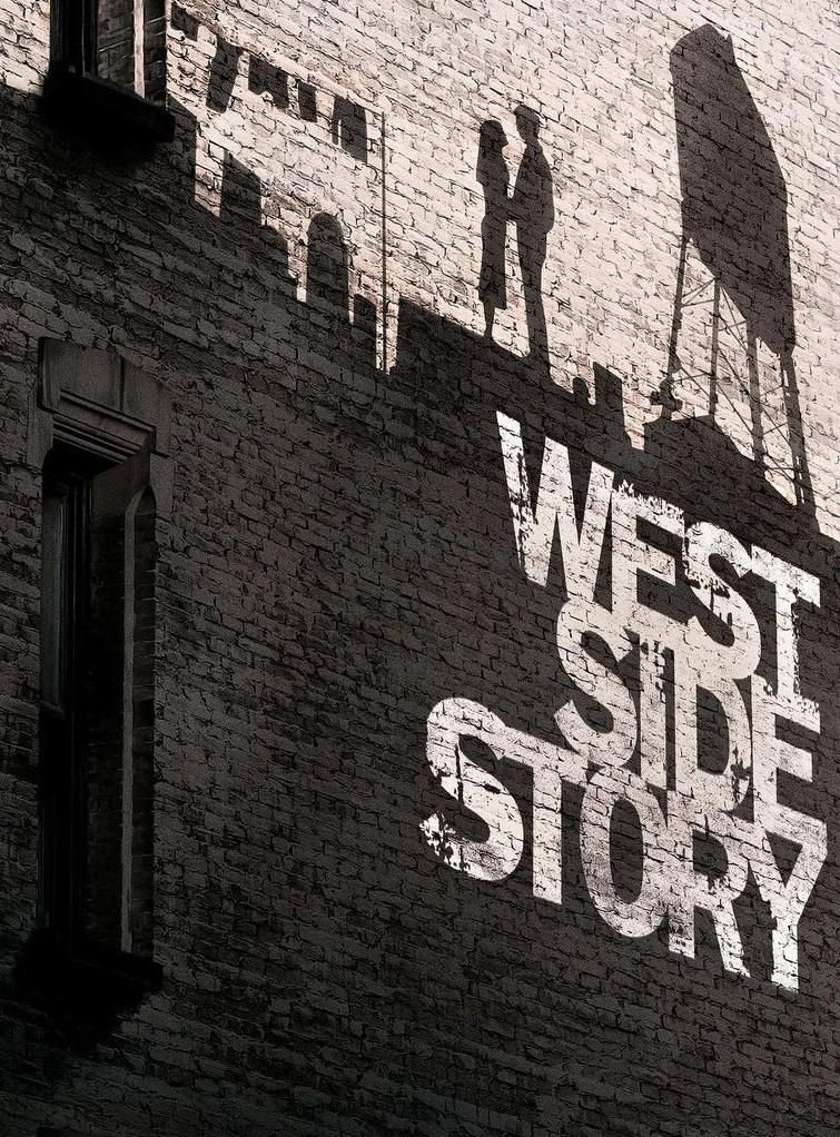 Steven Spielberg West Side Story című filmjének plakátja