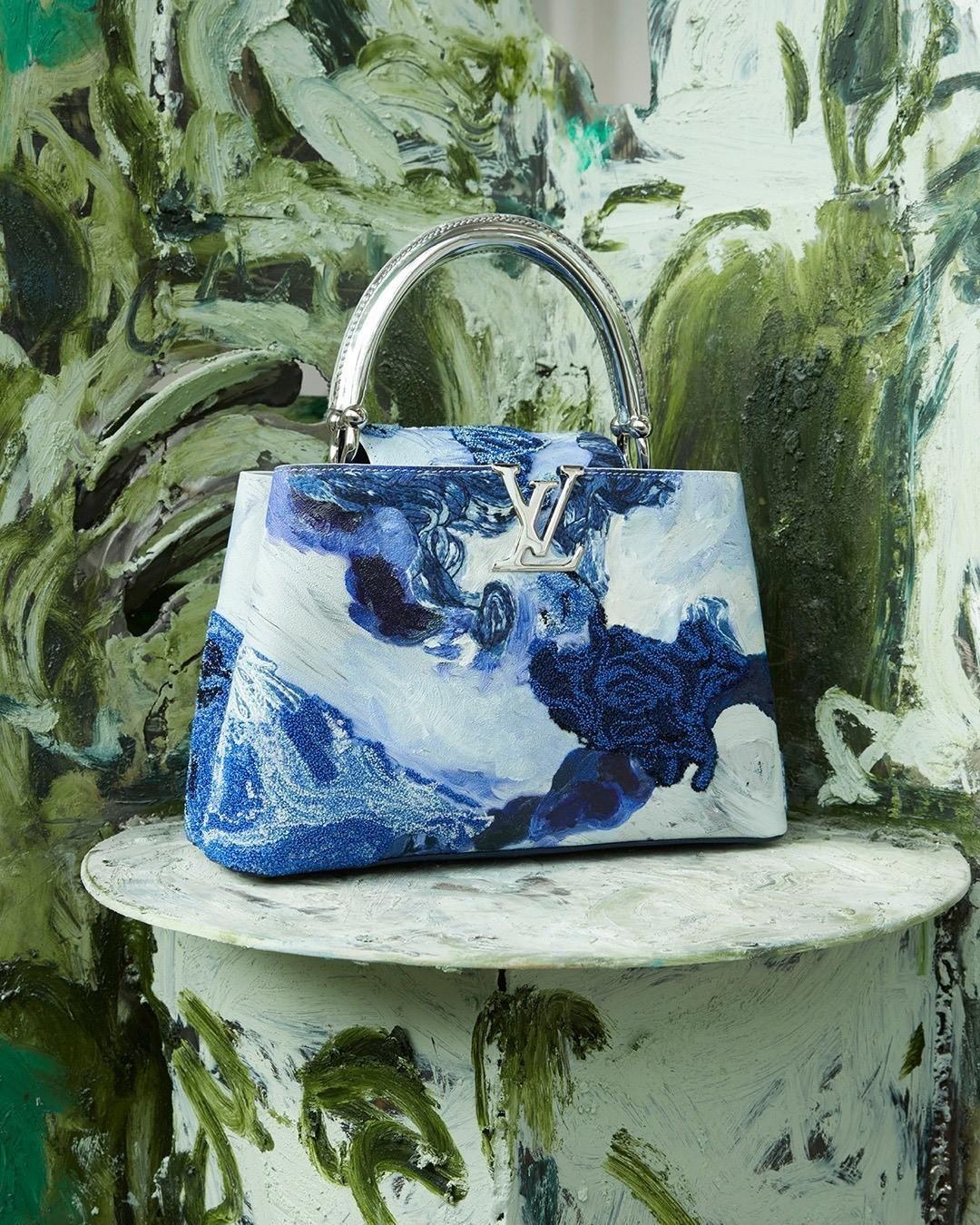 A Donna Huanca által újragondolt Louis Vuitton Capucines táska