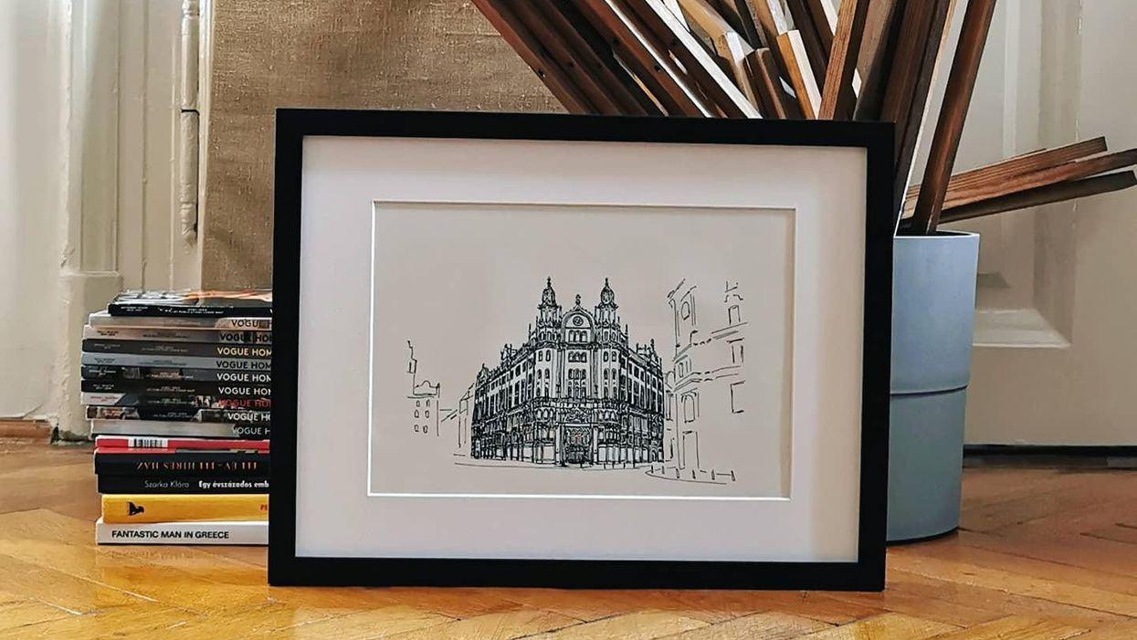 Ezekkel a művészi printekkel a falunkra akaszthatjuk Budapestet