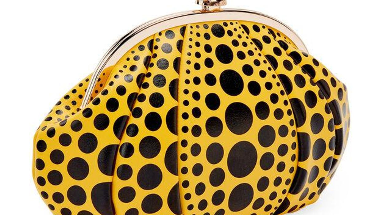 Már táskaként is hordhatjuk Yayoi Kusama ikonikus tökszobrait