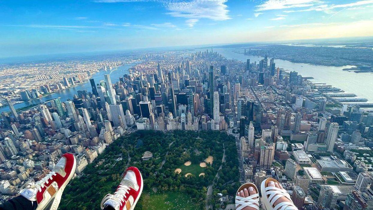 Szó szerint a lábunk alatt hever New York ezen a helikopteres túrán