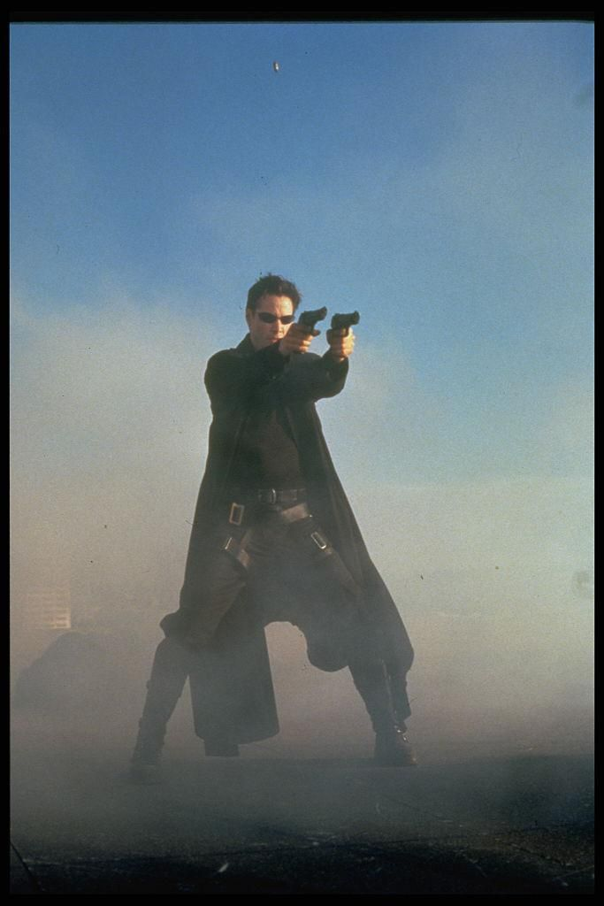 Keanu Reeves a Mátrix című 1999-es filmben