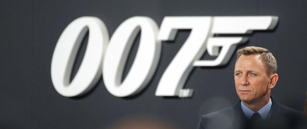 Daniel Craig a Spectre németországi bemutatóján 2015-ben