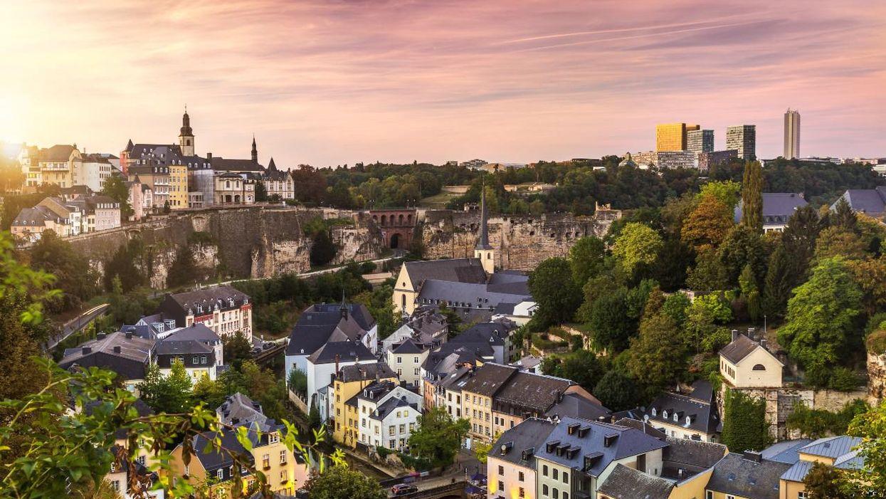 Európa legdrágább városa, Luxemburg város