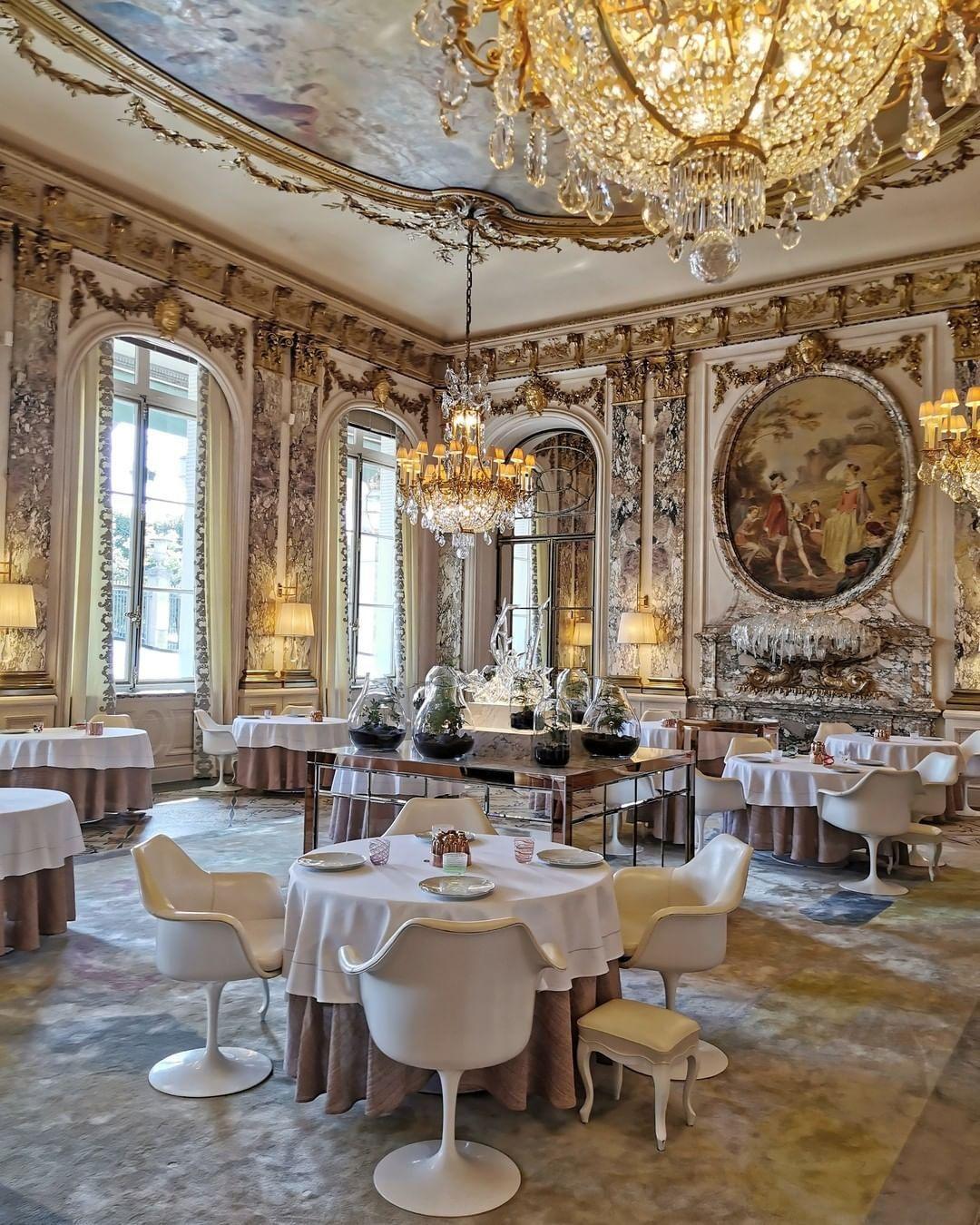 A Le Meurice hotel Párizsban