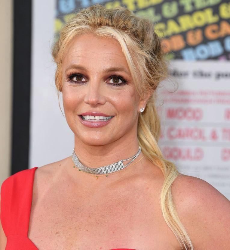 Britney Spears a Volt egyszer egy Hollywood Los Angeles-i premierjén 2019. júlis 22-én