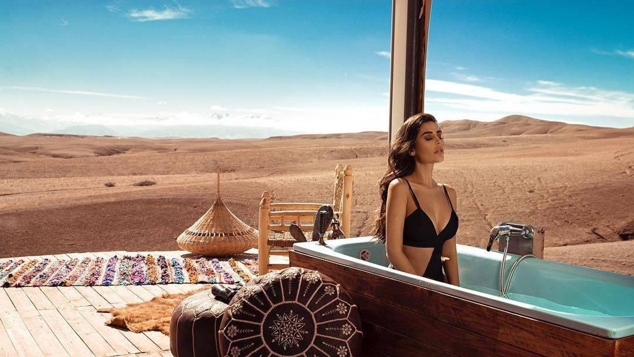 agafay desert luxury camp