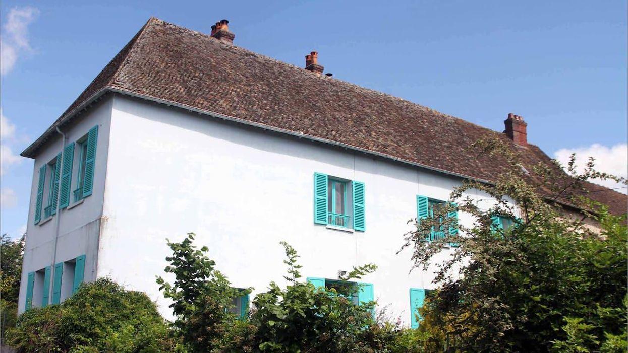 Akár Monet egyik Giverny-i házát is kivehetjük Airbnb-n