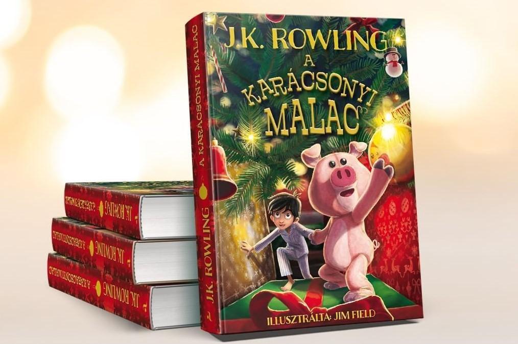 J.K. Rowling A karácsonyi malac című könyve