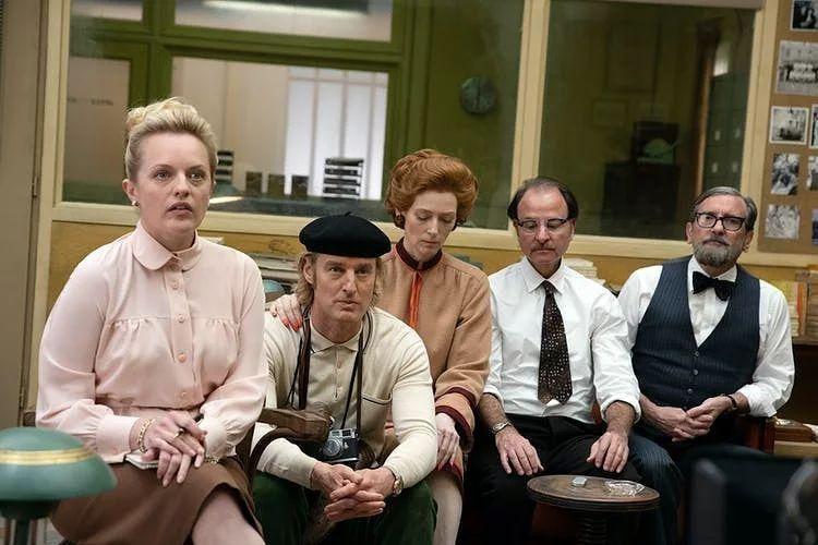 Wes Anderson Francia Kiadás című filmjének egyik jelenete