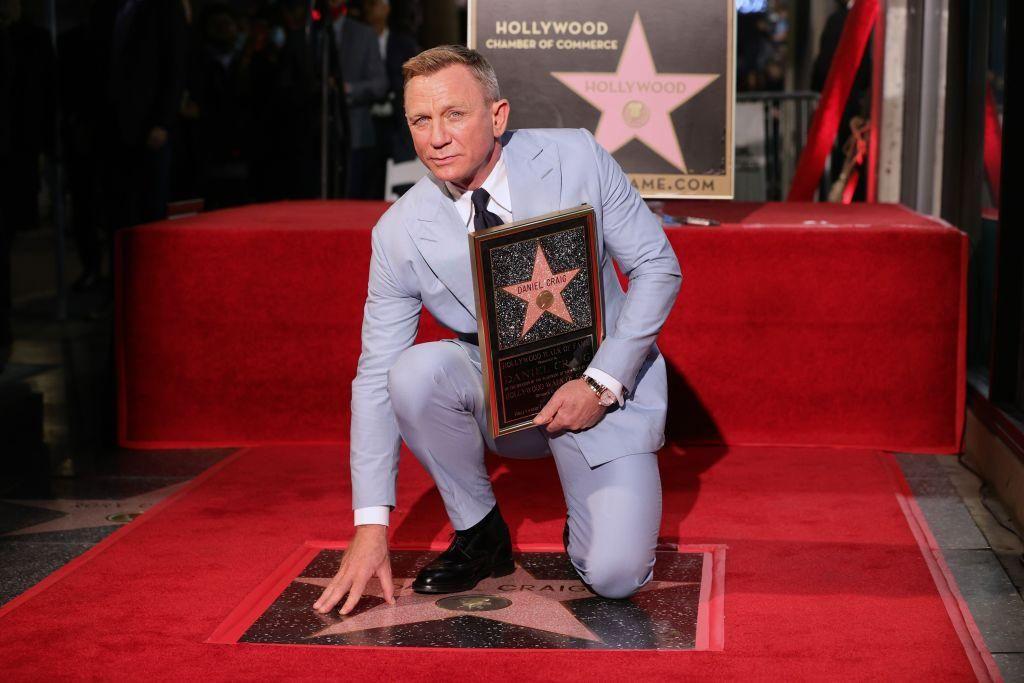 Daniel Craig csillagot kap a Hírességek sétányán Hollywoodban október 6-án.